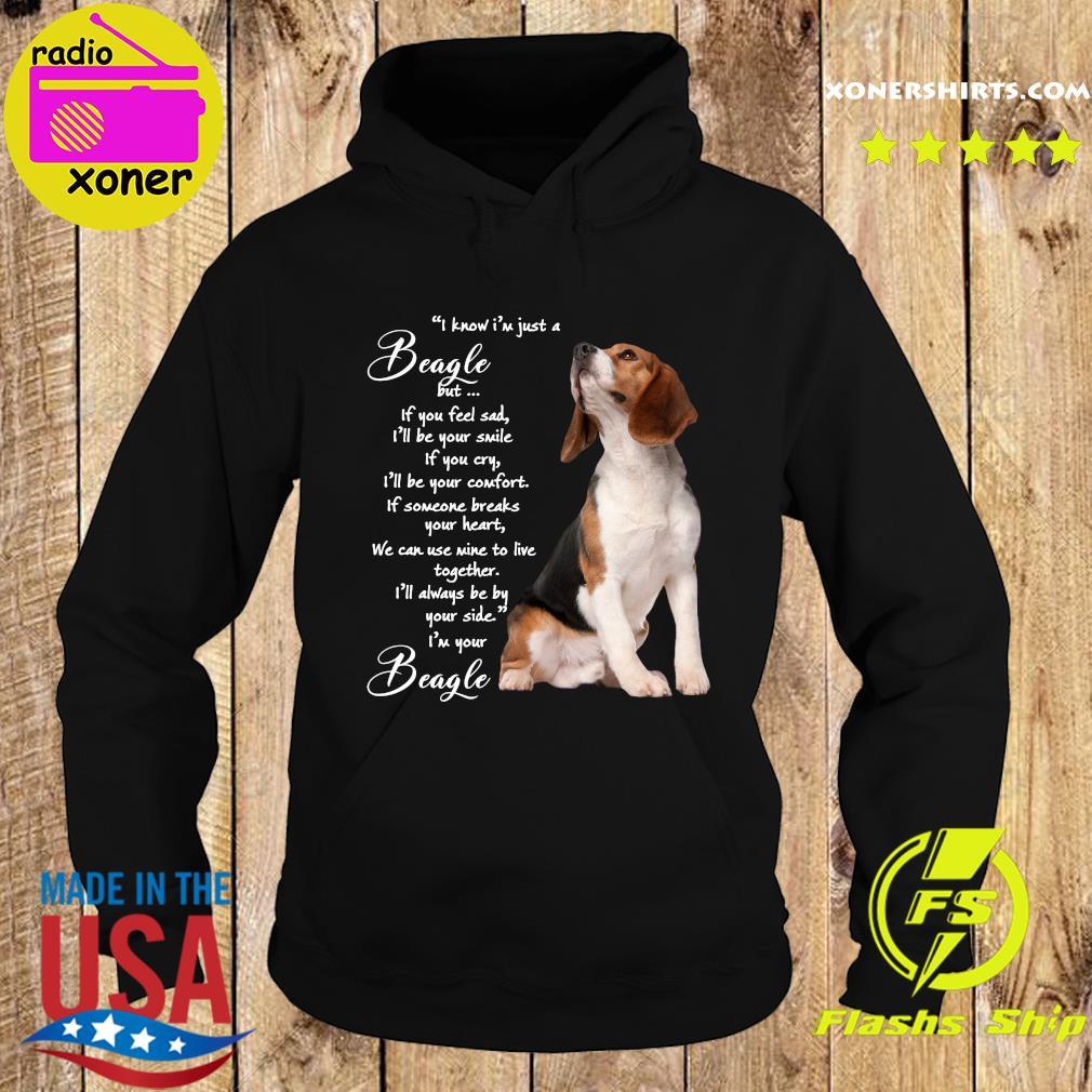 I Know I'm Just A Beagle But If You Feel Sad Shirt Hoodie