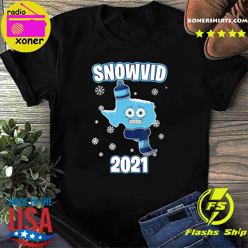 I Survived Snovid-21 2021 Texas Strong Funny Gift Snow Snowvid Shirt