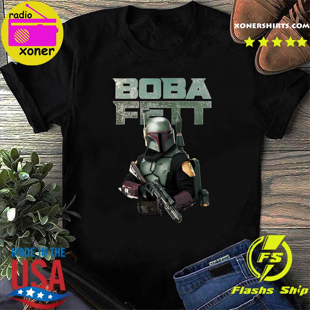 Official Star Wars The Mandalorian Boba Fett Shirt