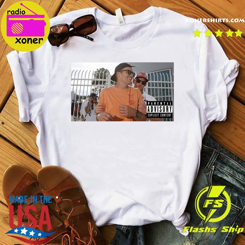 Official Tom Brady Parental Advisory Explicit Content Shirt