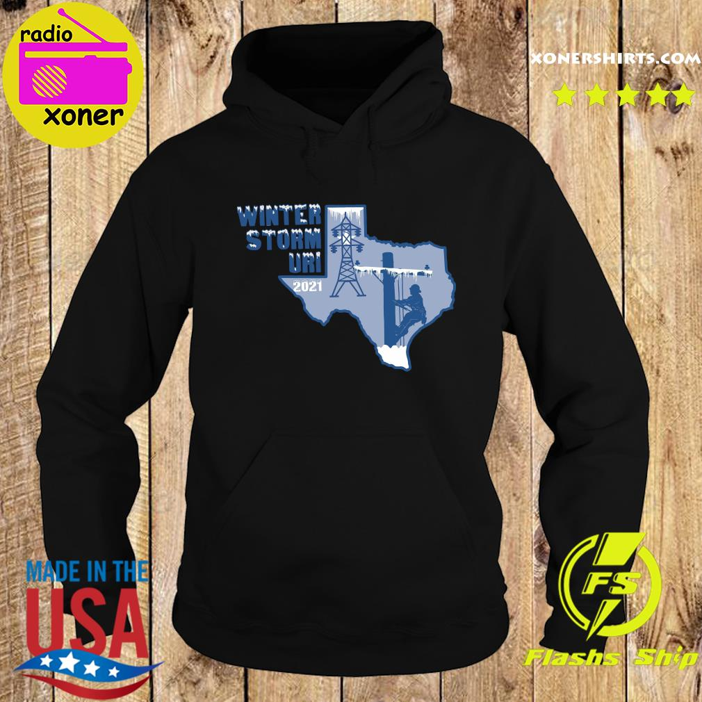 Official Winter Storm Uri 2021 Texas Strong Shirt Hoodie