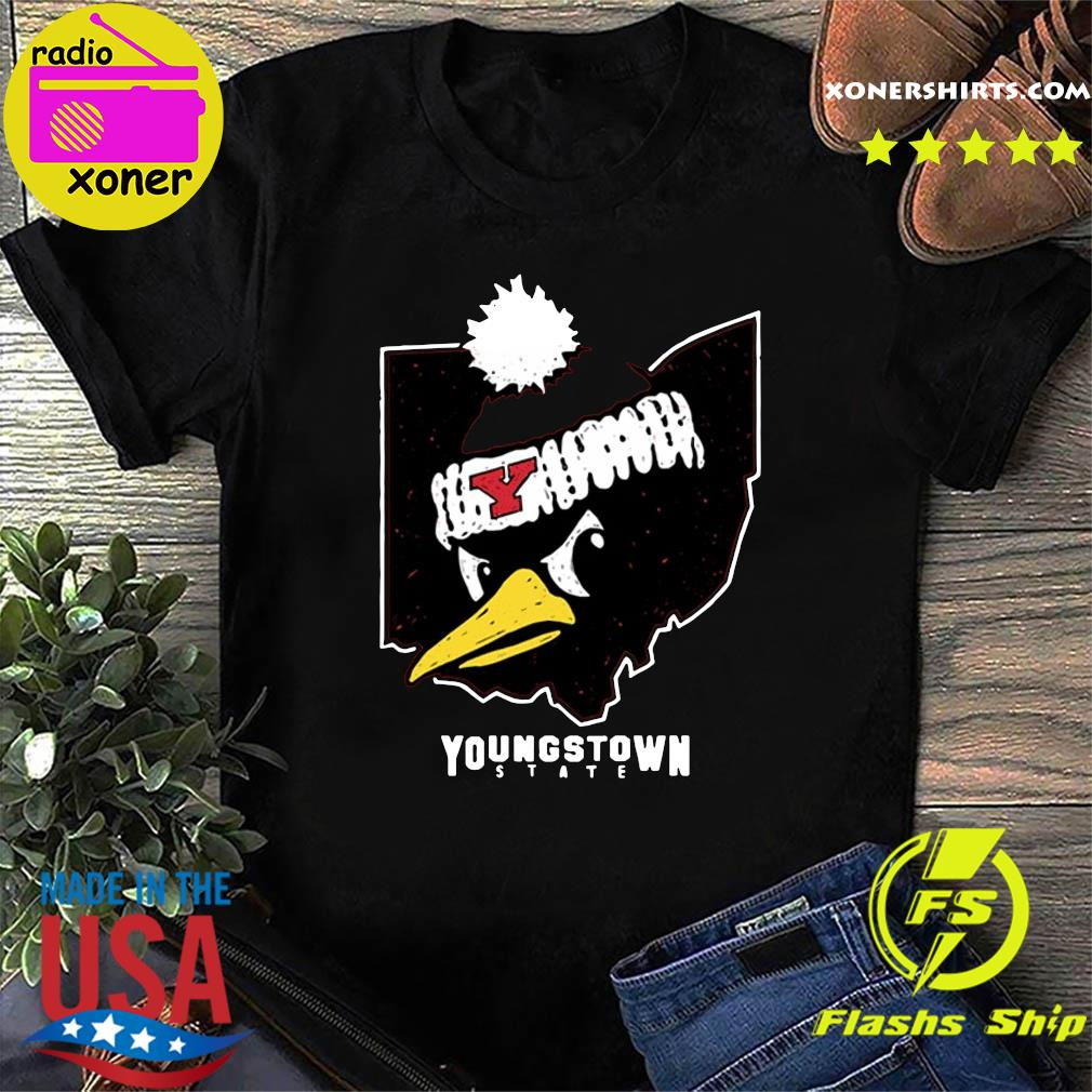 Official Youngstown State Ohio Penguin Shirt