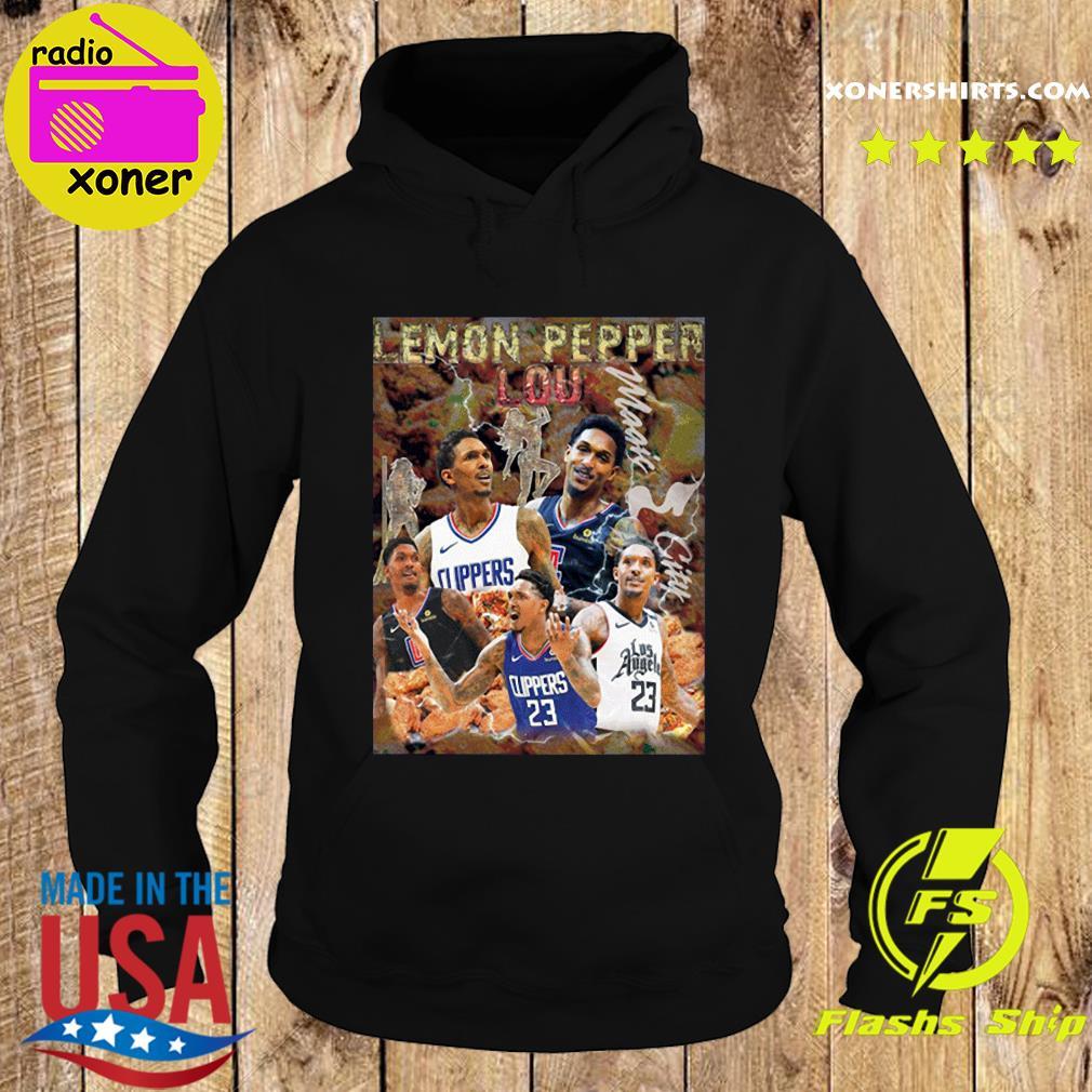 The Lemon Pepper Lou Los Angeles Clippers Shirt Hoodie