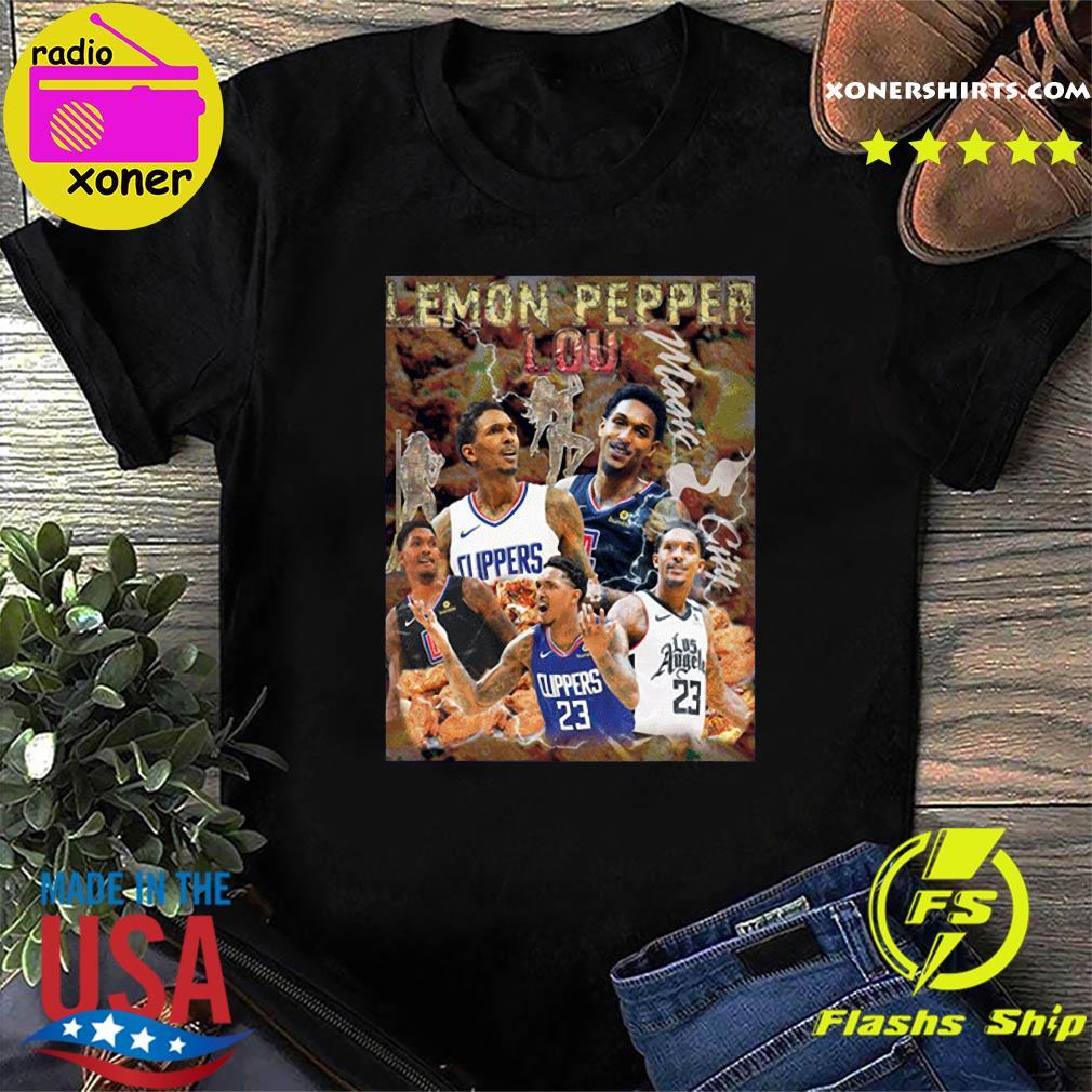 The Lemon Pepper Lou Los Angeles Clippers Shirt