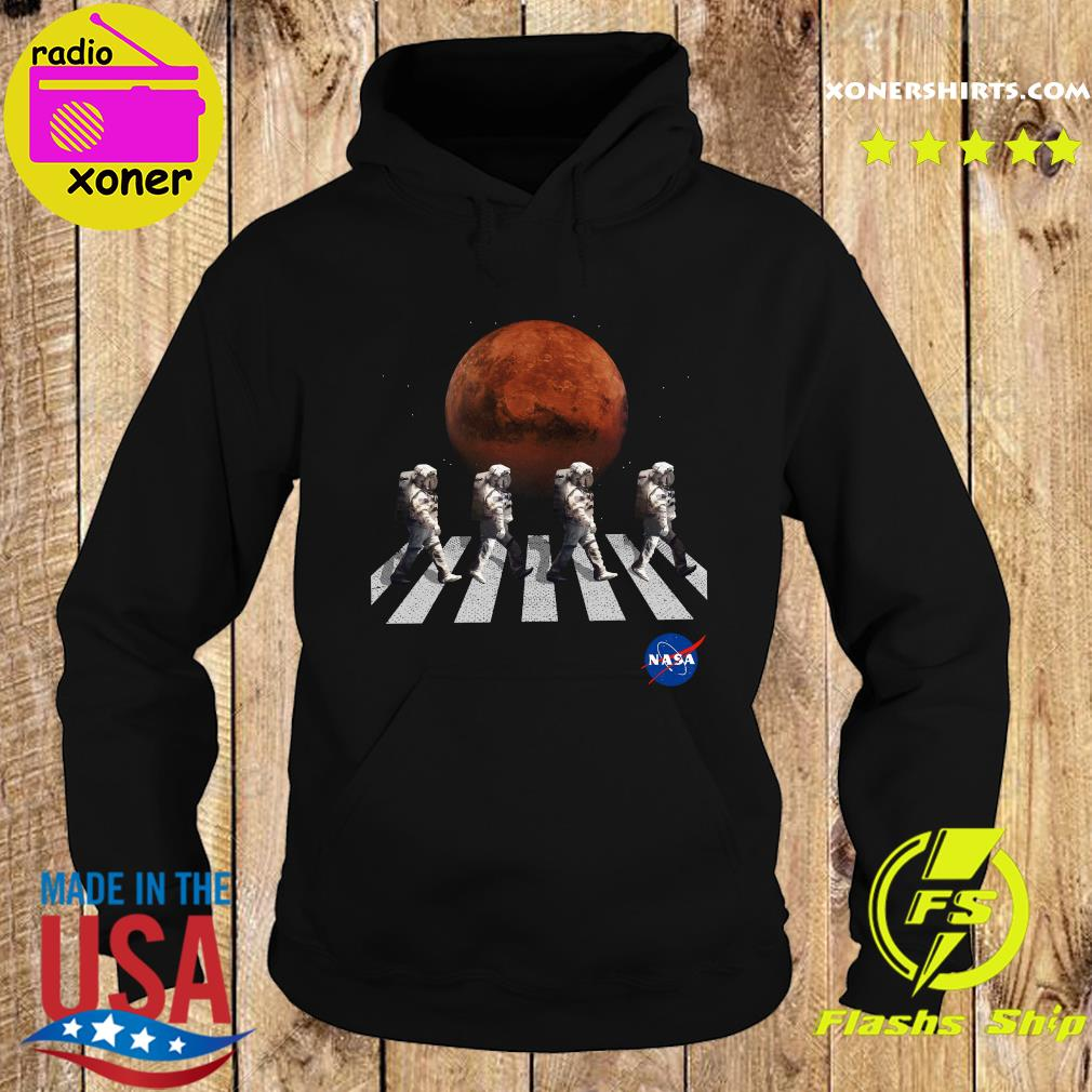 Astronaut Walk Space Occupy Abbey Road Shirt Hoodie