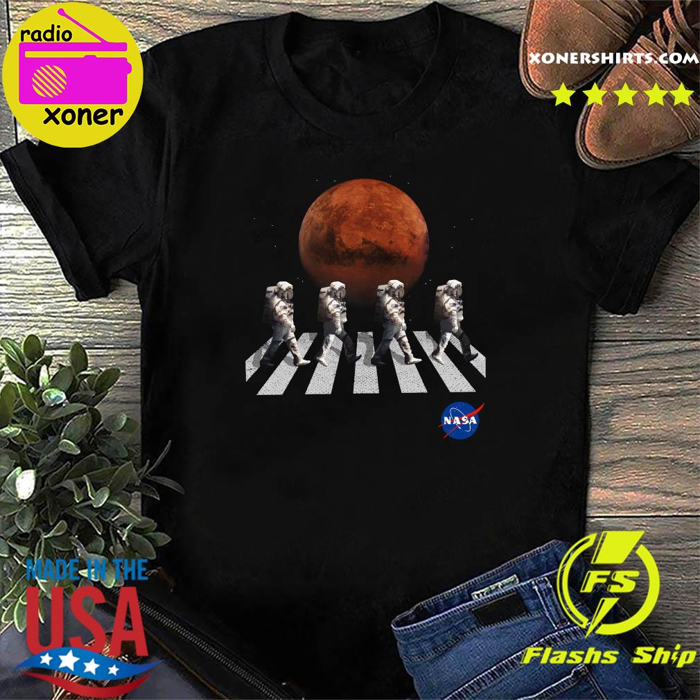 Astronaut Walk Space Occupy Abbey Road Shirt