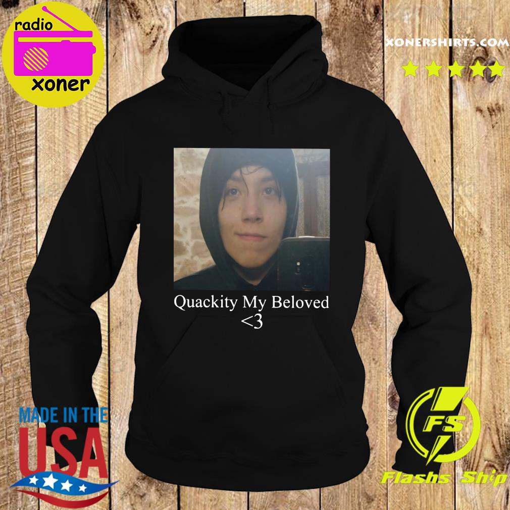 Official Quackity My Beloved Heart Shirt Hoodie