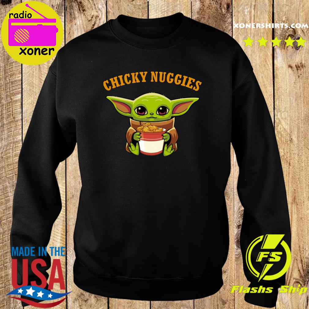 Baby Yoda chicky nuggies s Sweater