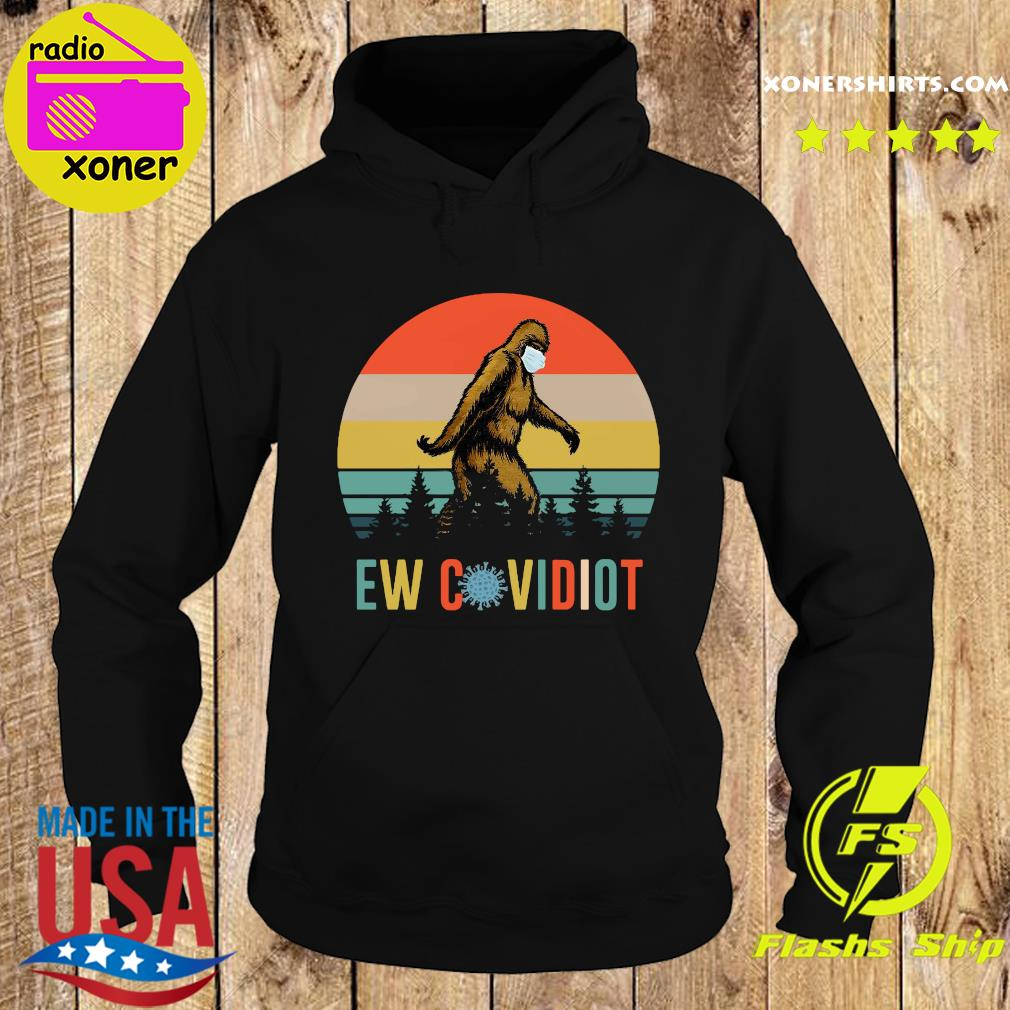 Bigfoot New Covid Iot vintage s Hoodie