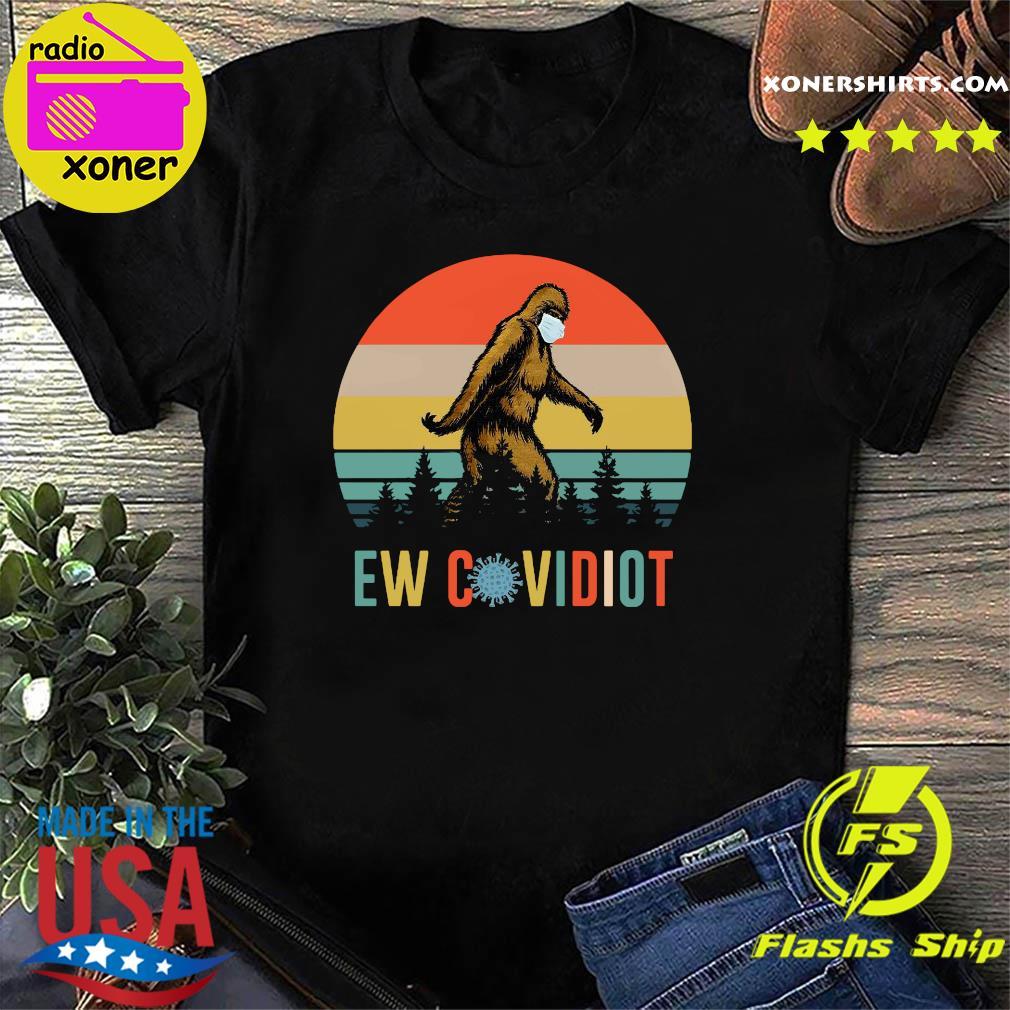 Bigfoot New Covid Iot vintage shirt