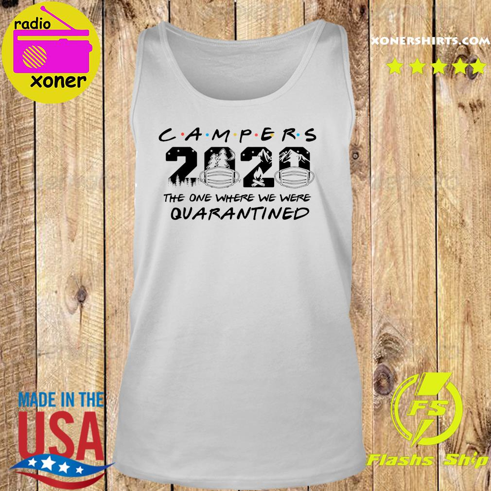 Camper 2020 the one where we were quarantined s Tank top
