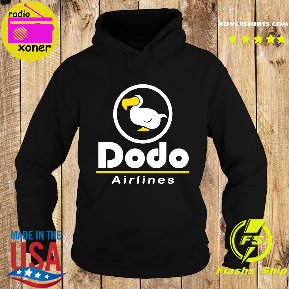 Dodo Airlines Shirt Hoodie