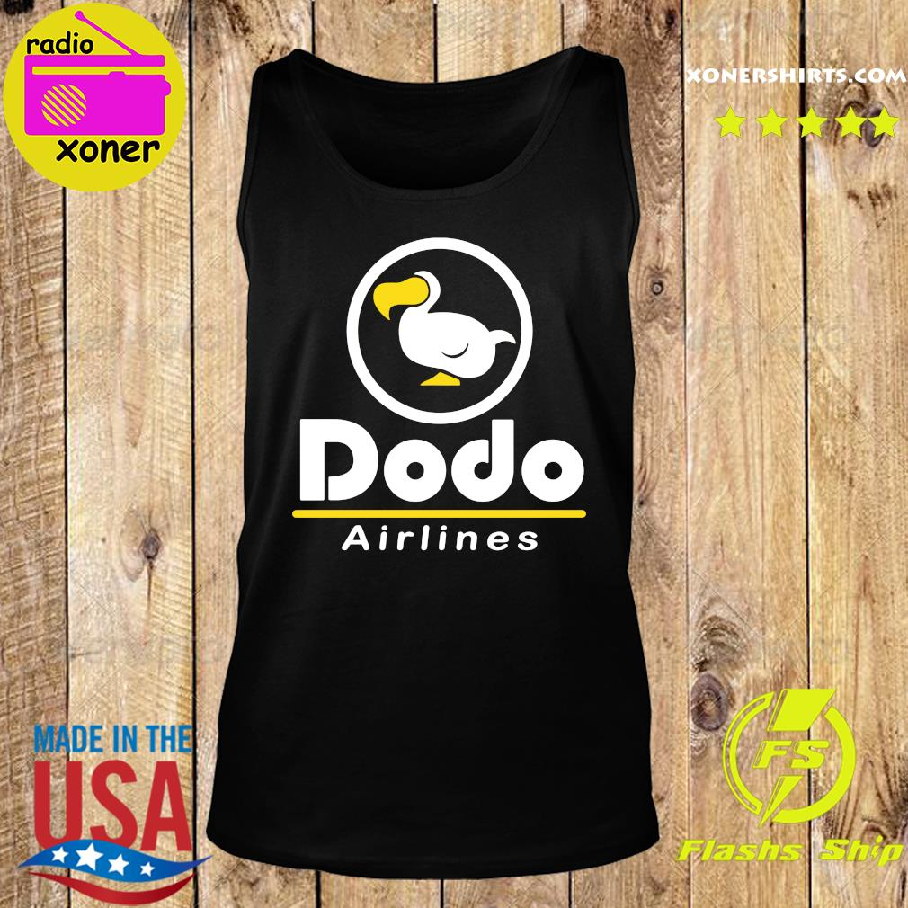 Dodo Airlines Shirt Tank top