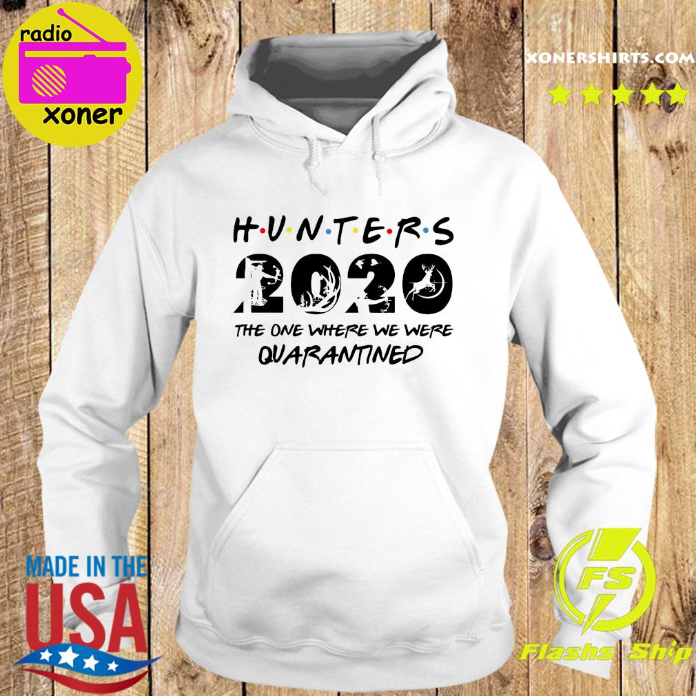 Hunter 2020 the one where we were quarantined s Hoodie