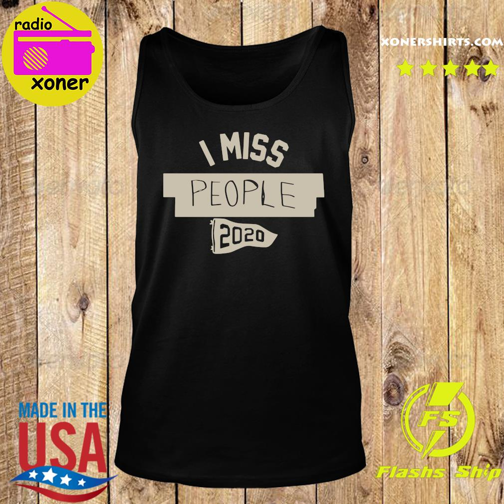 Nkotb House Party I Miss People 2020 Shirt Tank top