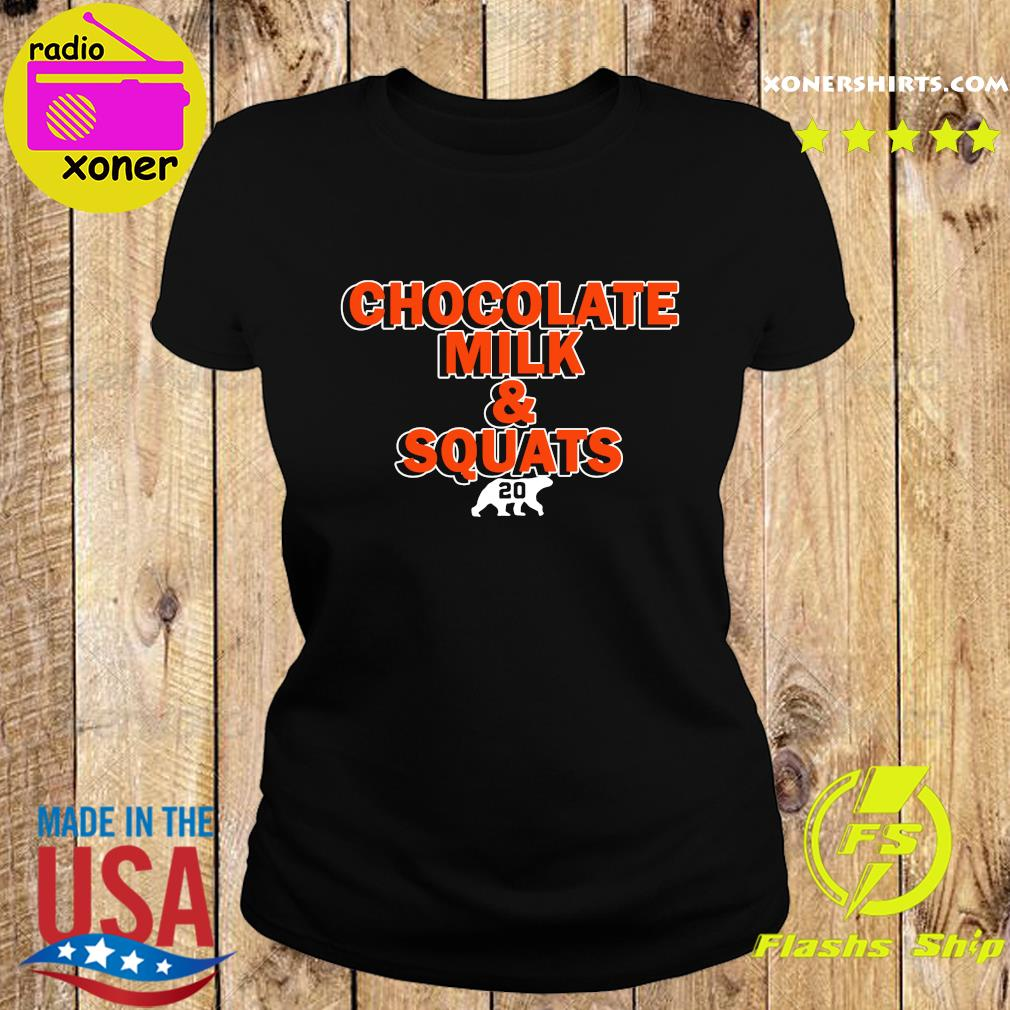 Chocolate Milk and Squats 2020 s Ladies tee