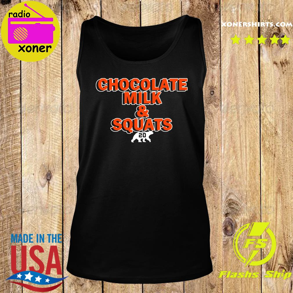 Chocolate Milk and Squats 2020 s Tank top