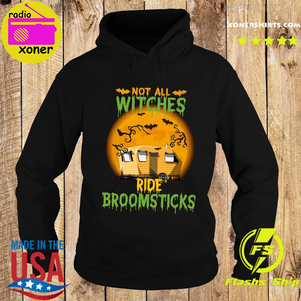Not All Witches Ride Broomsticks Moon Shirt Hoodie