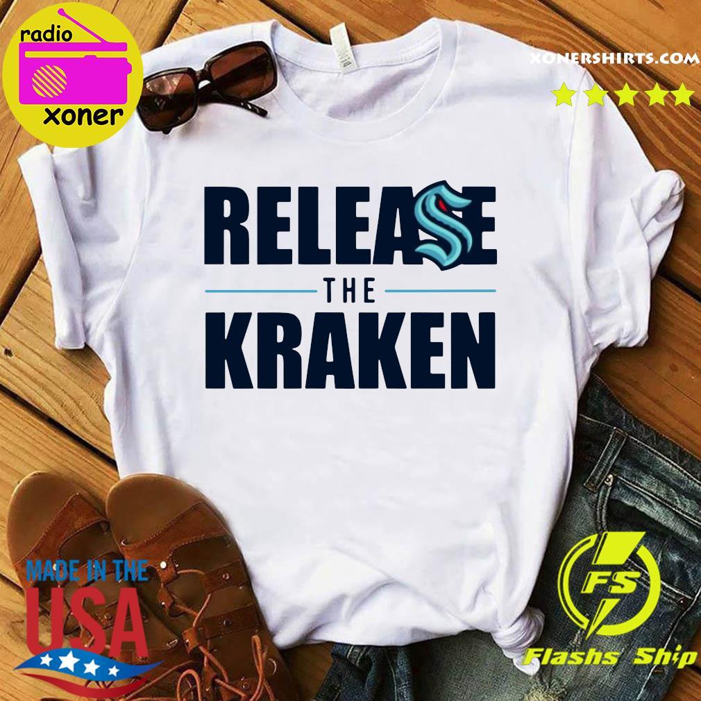 Release The Kraken gift shirt