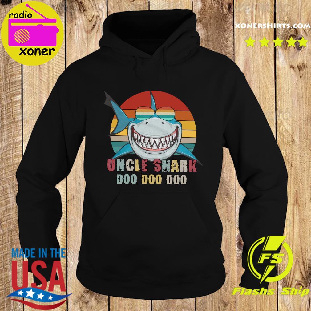 Uncle Shark Doo Doo Doo Doo Vintage Retro Shirt Hoodie