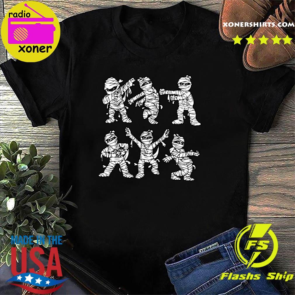 Dancing Mummy halloween dancing shirt