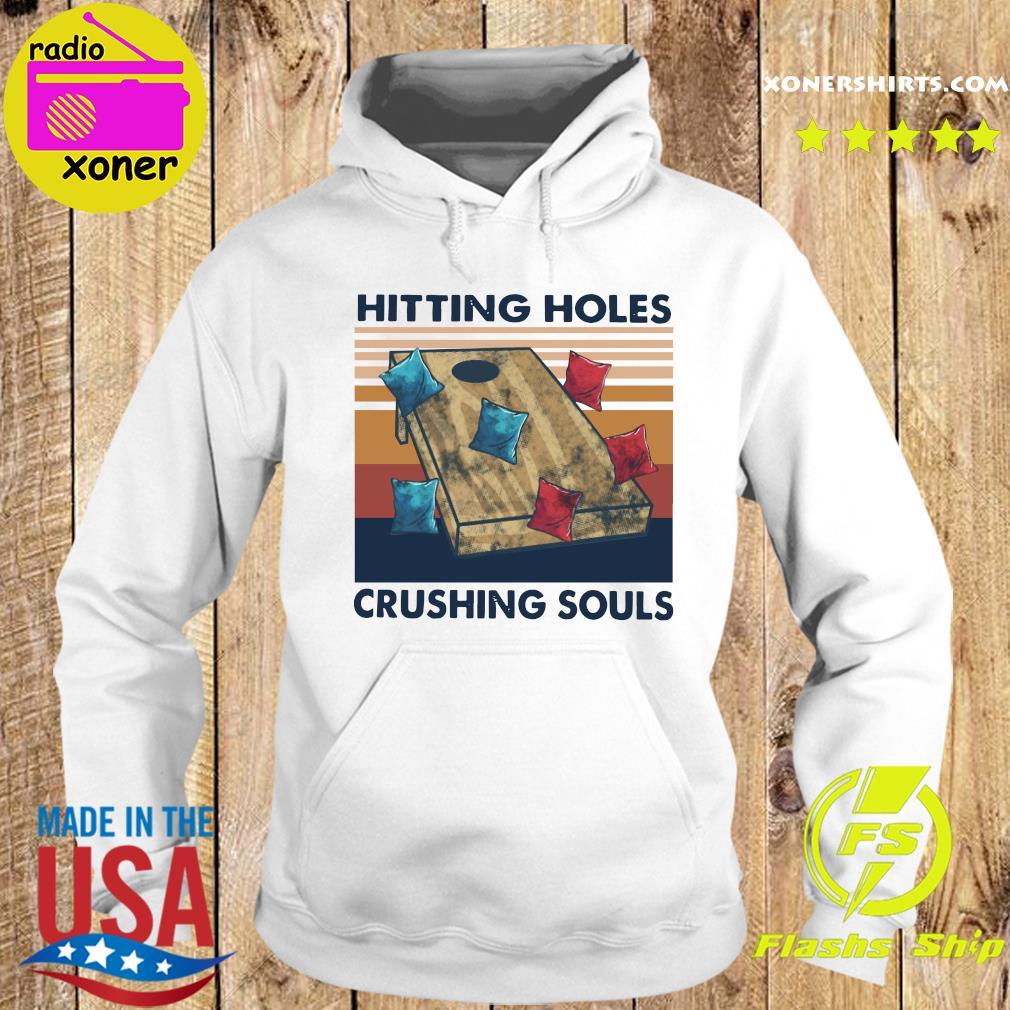 Hittin Holes Crushing Souls Vintage Retro Shirt Hoodie