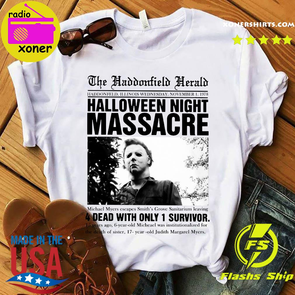 Halloween 2020 Michaels Death Michael Myers Horror Movies Halloween Night Massage 4 Dead With