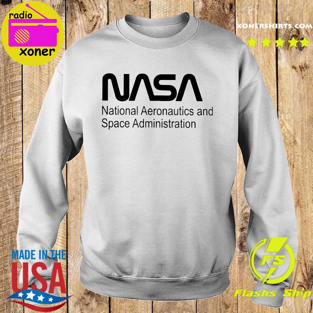 Nasa National Aeronautics And Space Administration Shirt Sweater