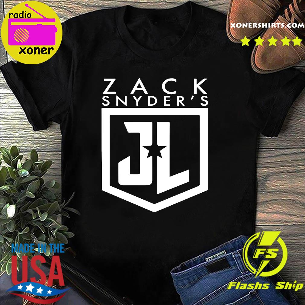 Official Zack snyder justice league shirt