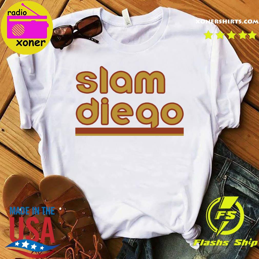 Slam Diego San Diego Baseball Shirt