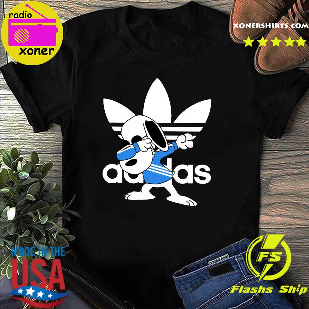 Snoopy Adidas Dabbing Shirt