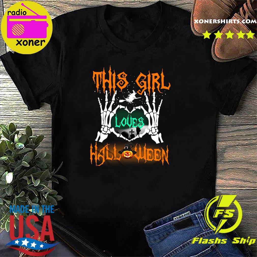 This girl loves Halloween 2020 Shirt