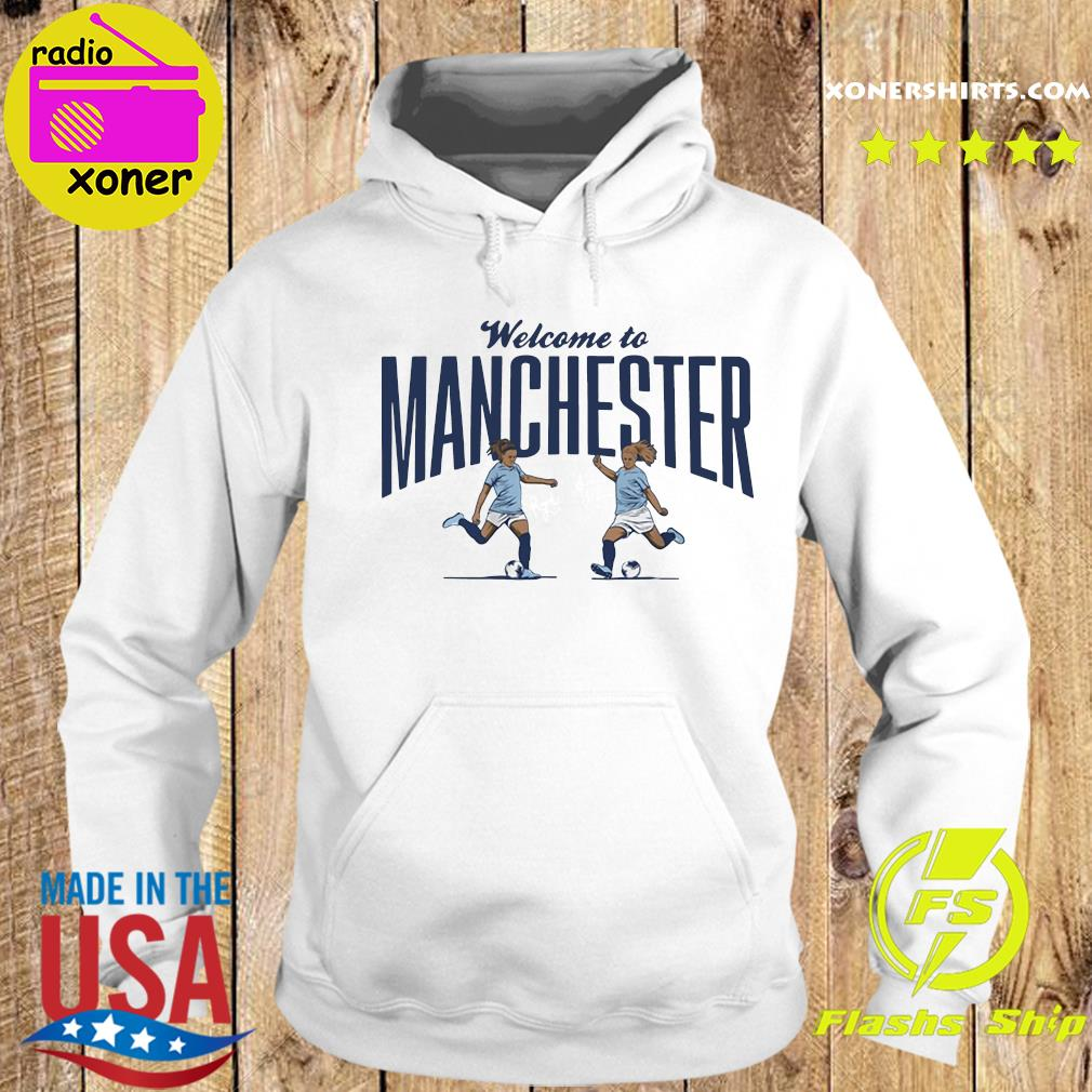 Lavelle Mewis Welcome to Manchester Official T-Shirt Hoodie