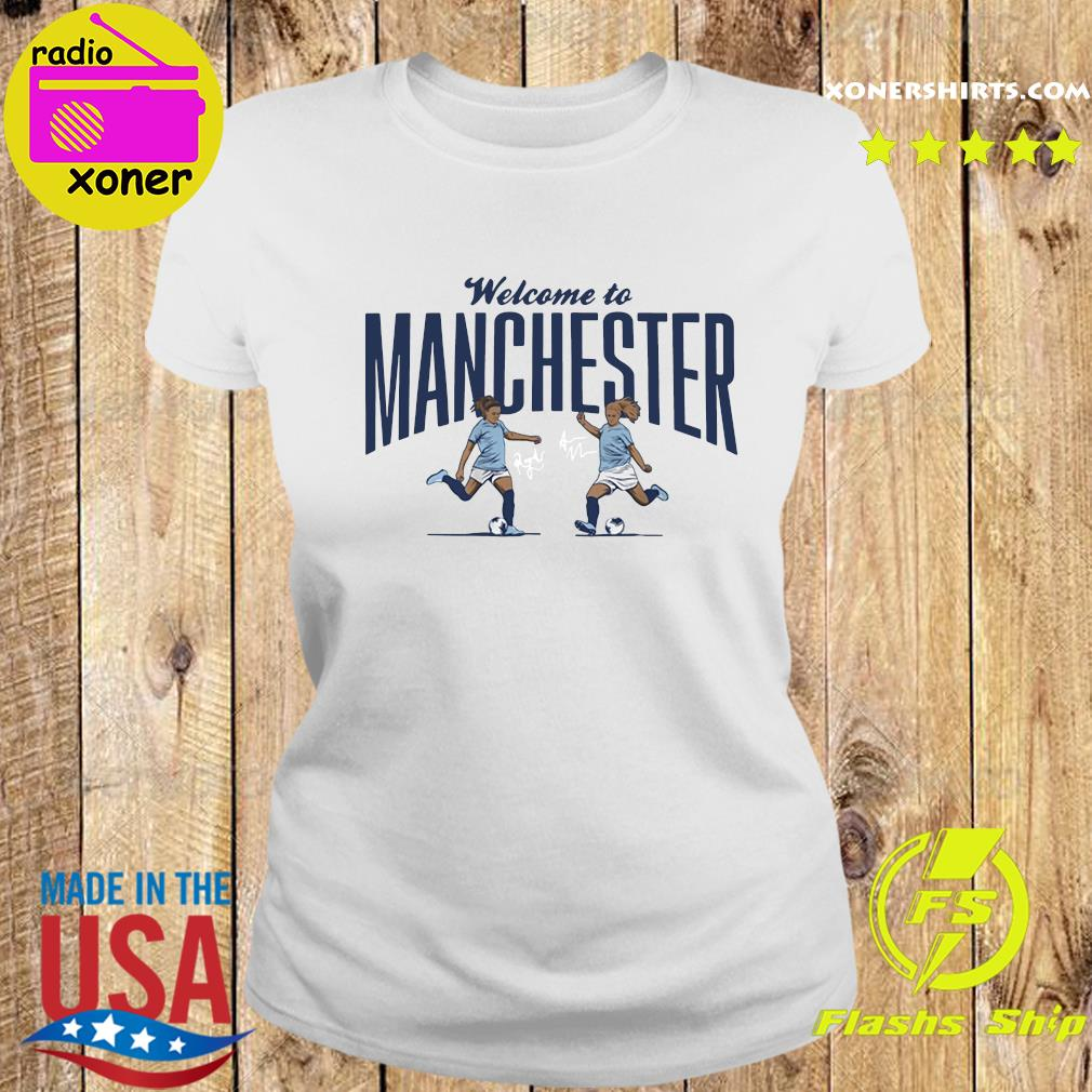 Lavelle Mewis Welcome to Manchester Official T-Shirt Ladies tee