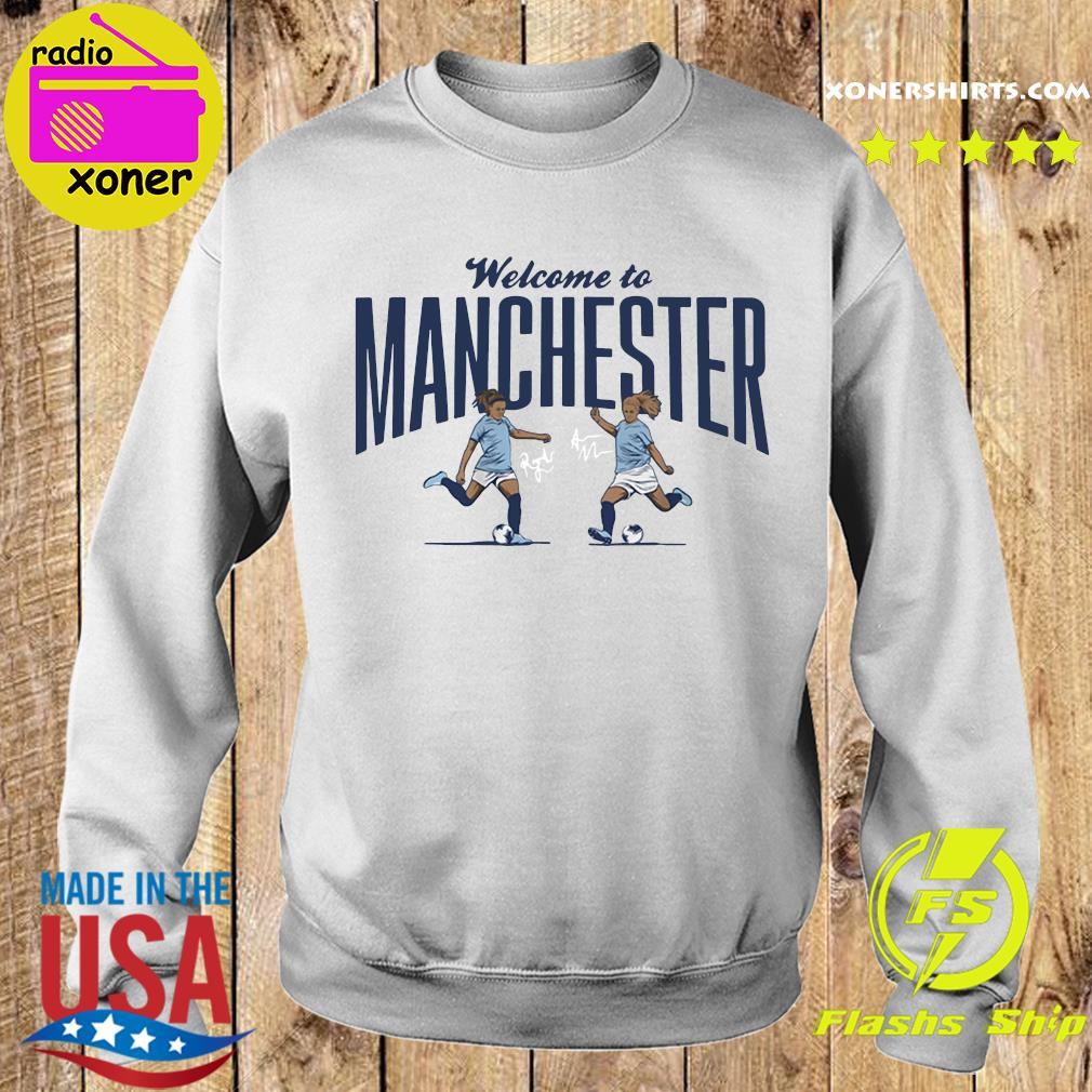 Lavelle Mewis Welcome to Manchester Official T-Shirt Sweater