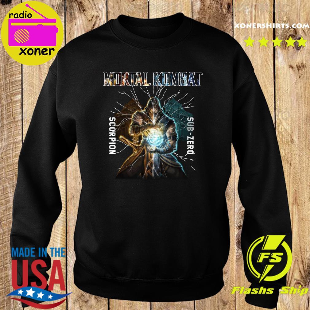 Mortal Kombat Scorpion Sub Zero Shirt Sweater