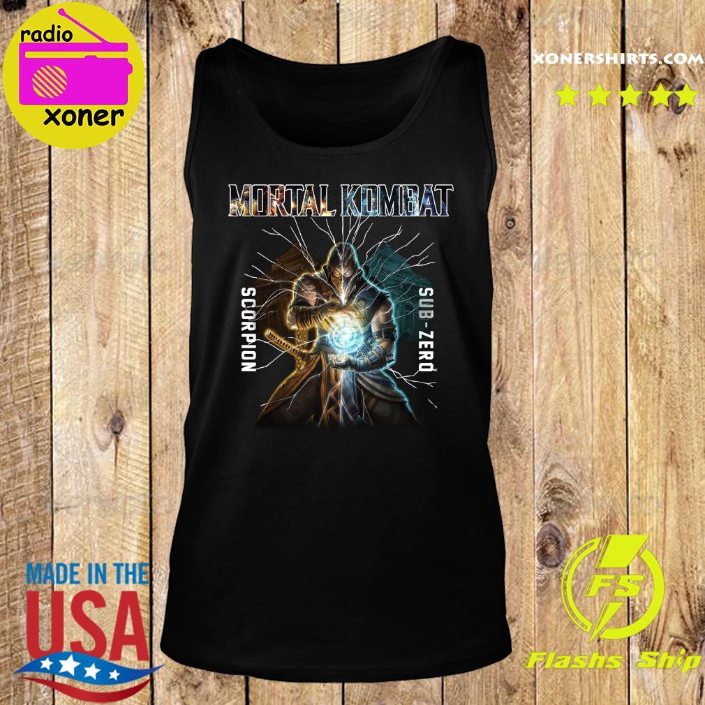 Mortal Kombat Scorpion Sub Zero Shirt Tank top