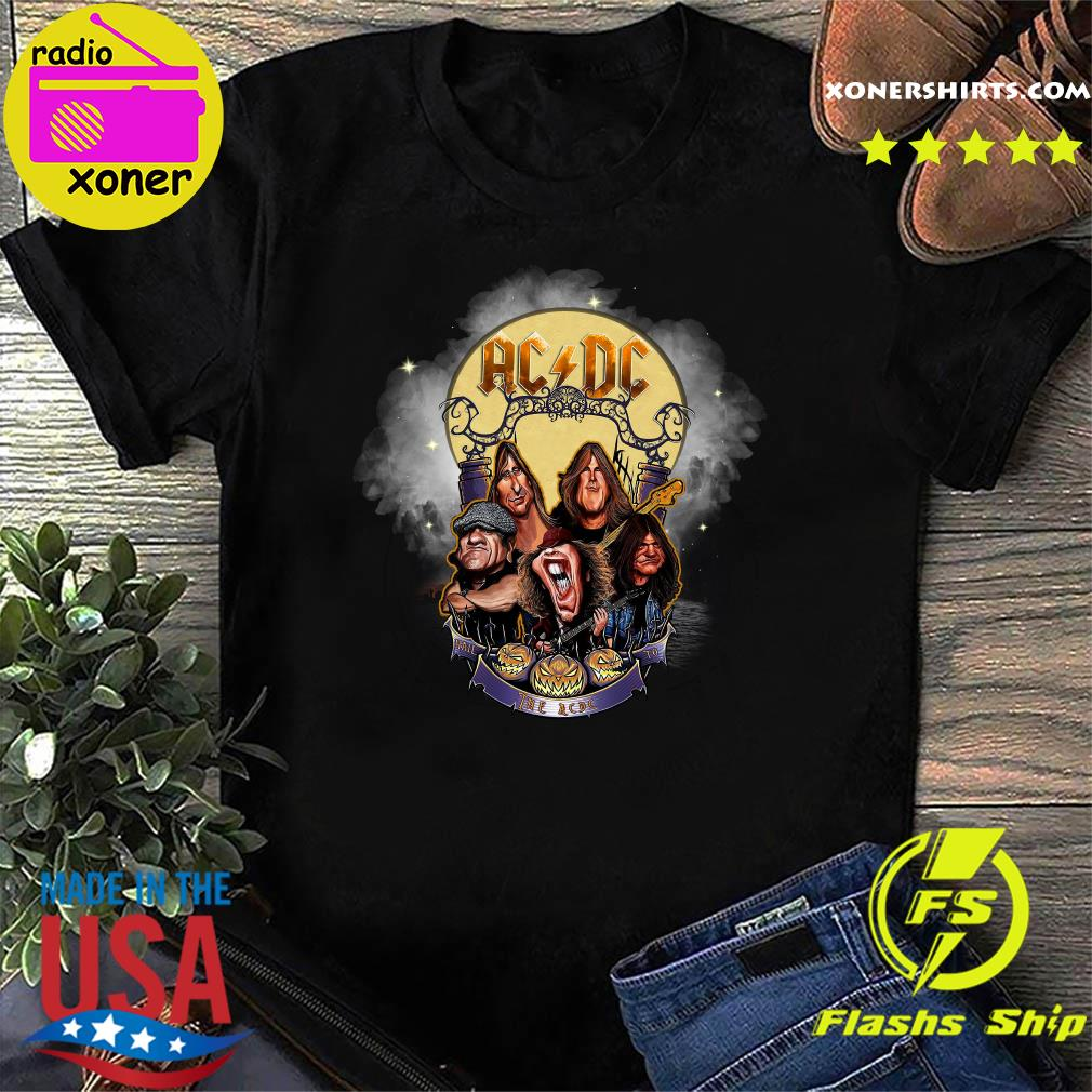 Dc Halloween 2020 Comics Official Ac Dc Rock Band Comic 2020 Halloween Shirt, hoodie
