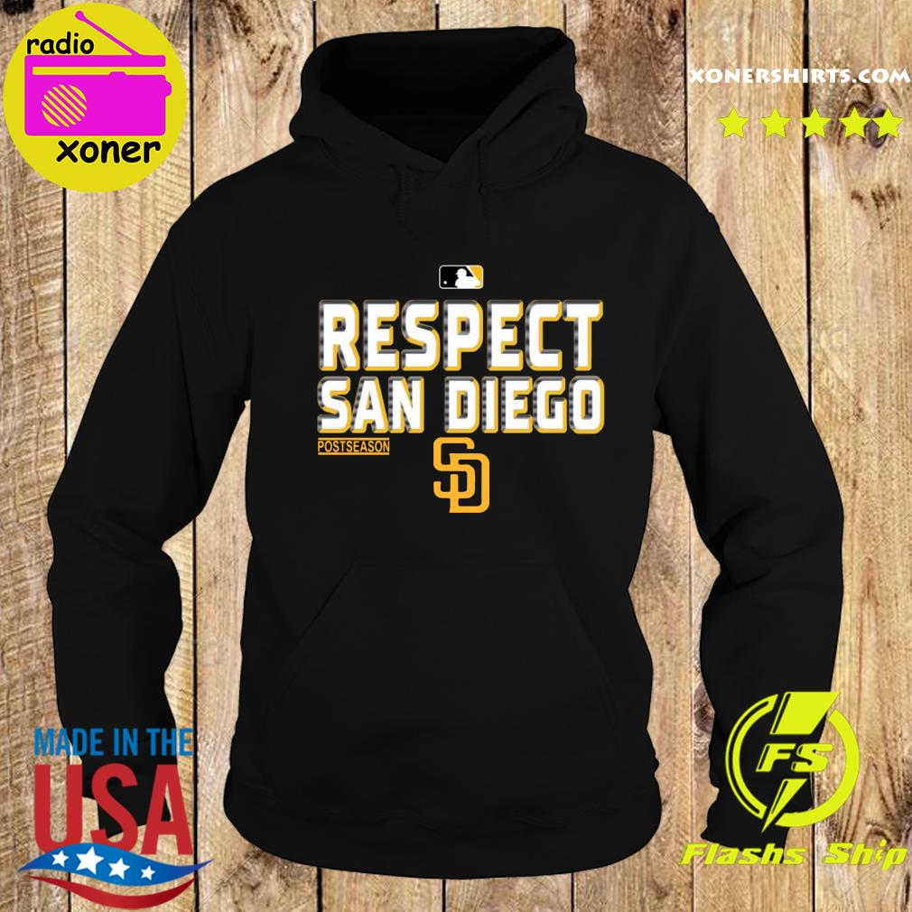 Official Respect San Diego Padres Shirt Hoodie