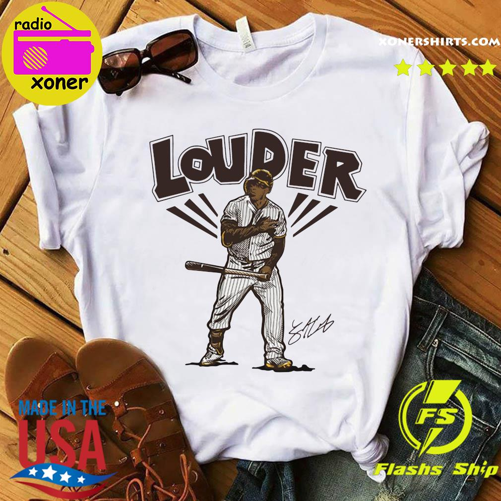 Official Slam Diego Louder Hoodies Shirt