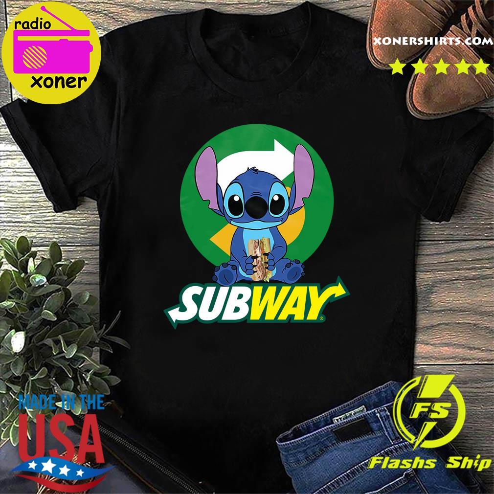 Stitch Hug Subway Shirt