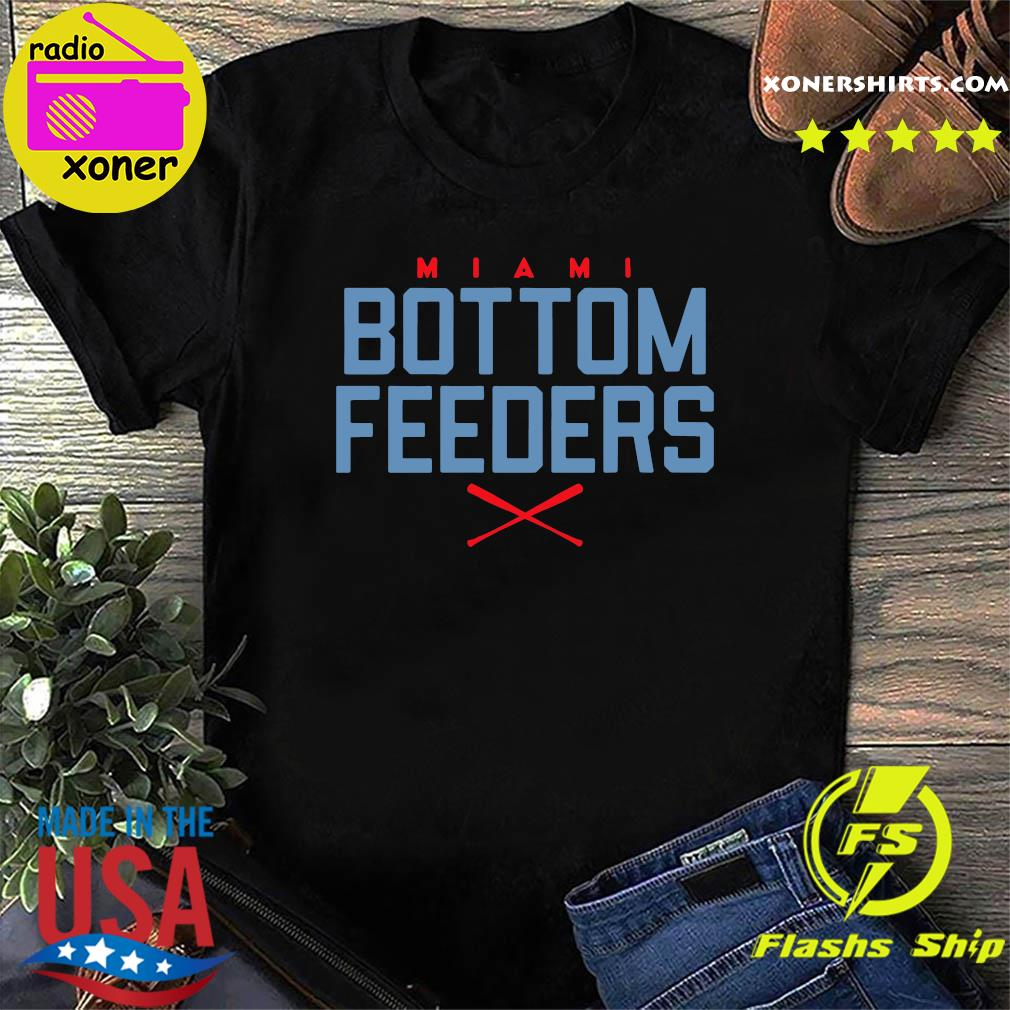 Bottom Feeders Miami Baseball T-Shirt