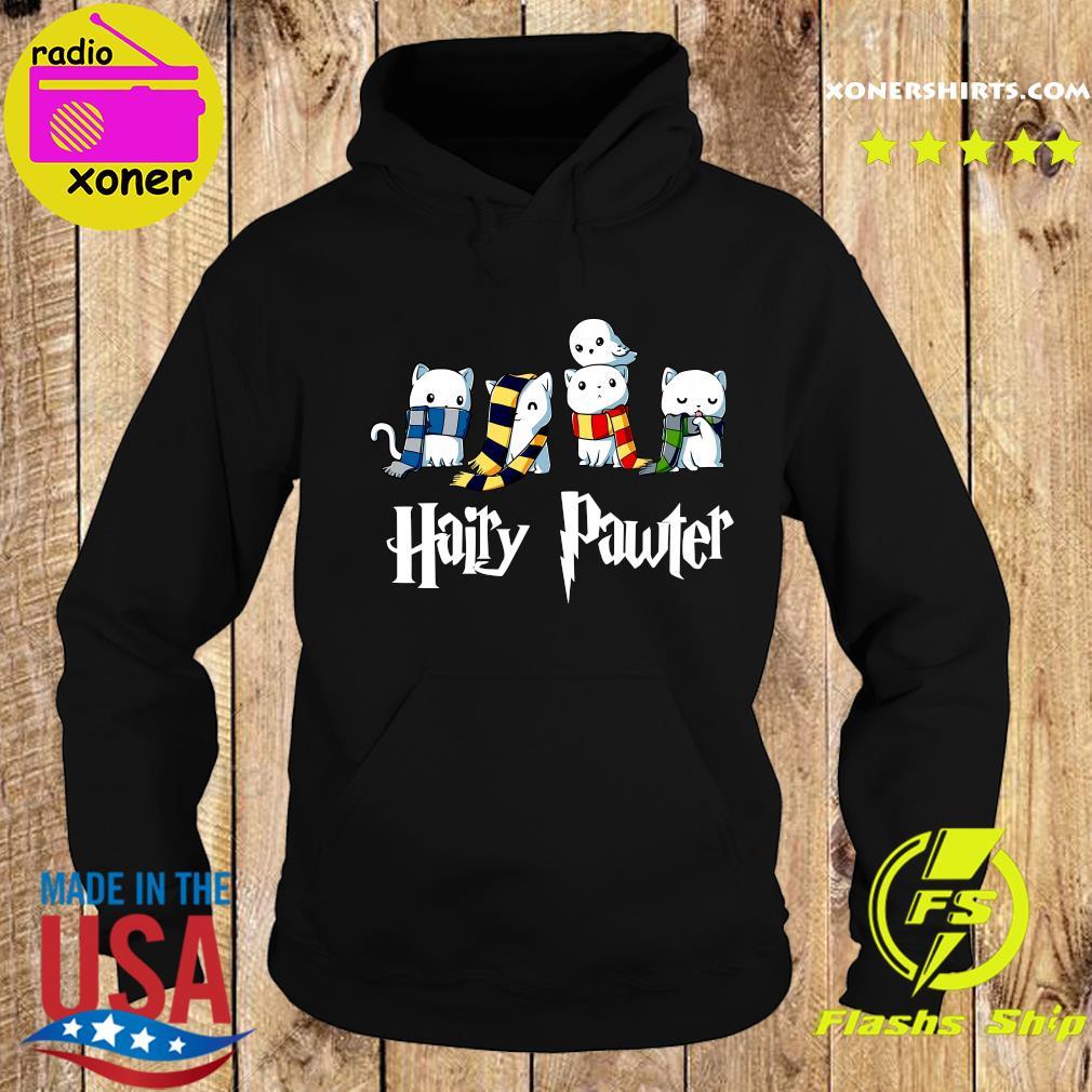 Cat Hairy Pawter Shirt Hoodie