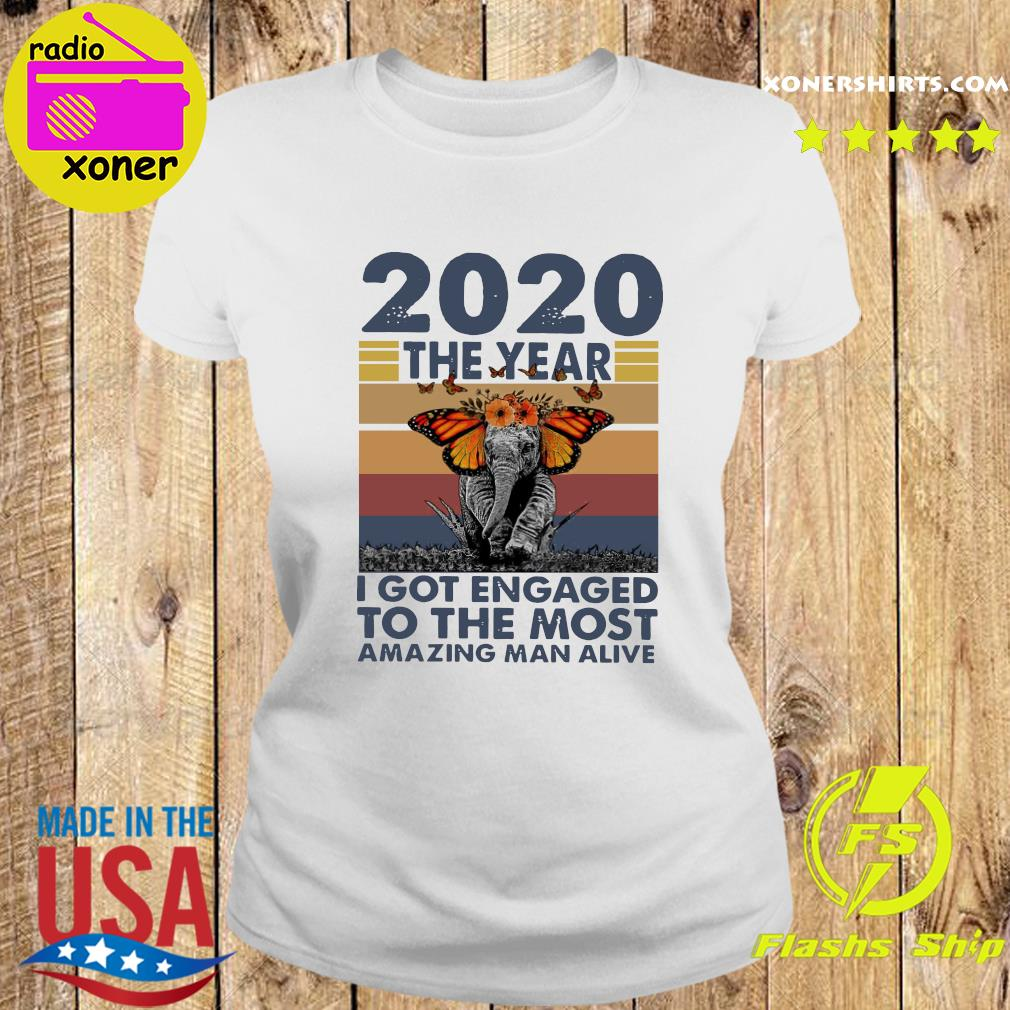 Elephant 2020 The year I Got Engaged To The Most Amazing Classic T-Shirt