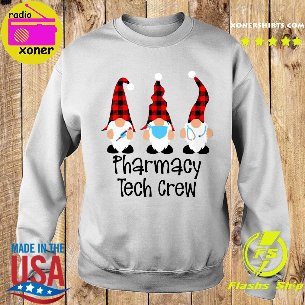 Gnome Nurse Pharmacy Tech Crew Merry Christmas Sweatshirt