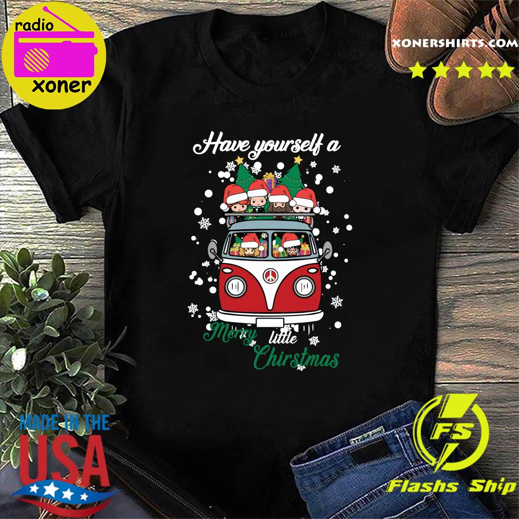 Harry Potter Have Yourself A Merry Little Christmas Shirt
