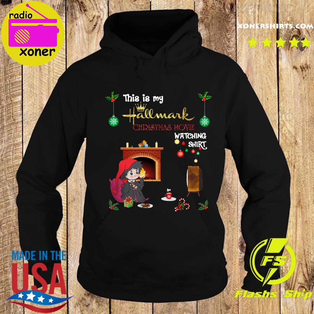 Harry Potter This Is My Hallmark Christmas Movie Watching Shirt Hoodie