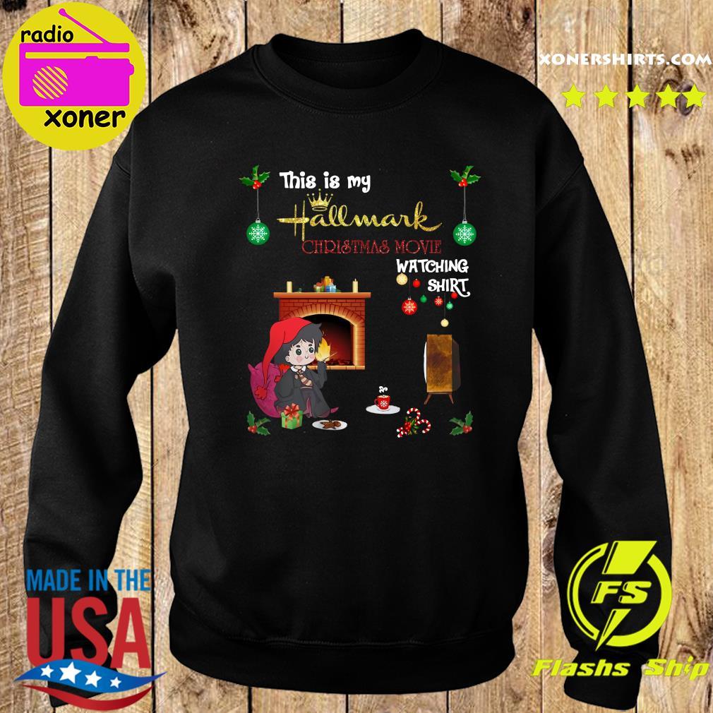 Harry Potter This Is My Hallmark Christmas Movie Watching Shirt Sweater