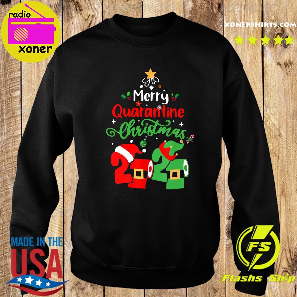 Merry Quarantine Christmas 2020 Toilet Paper Sweatshirt