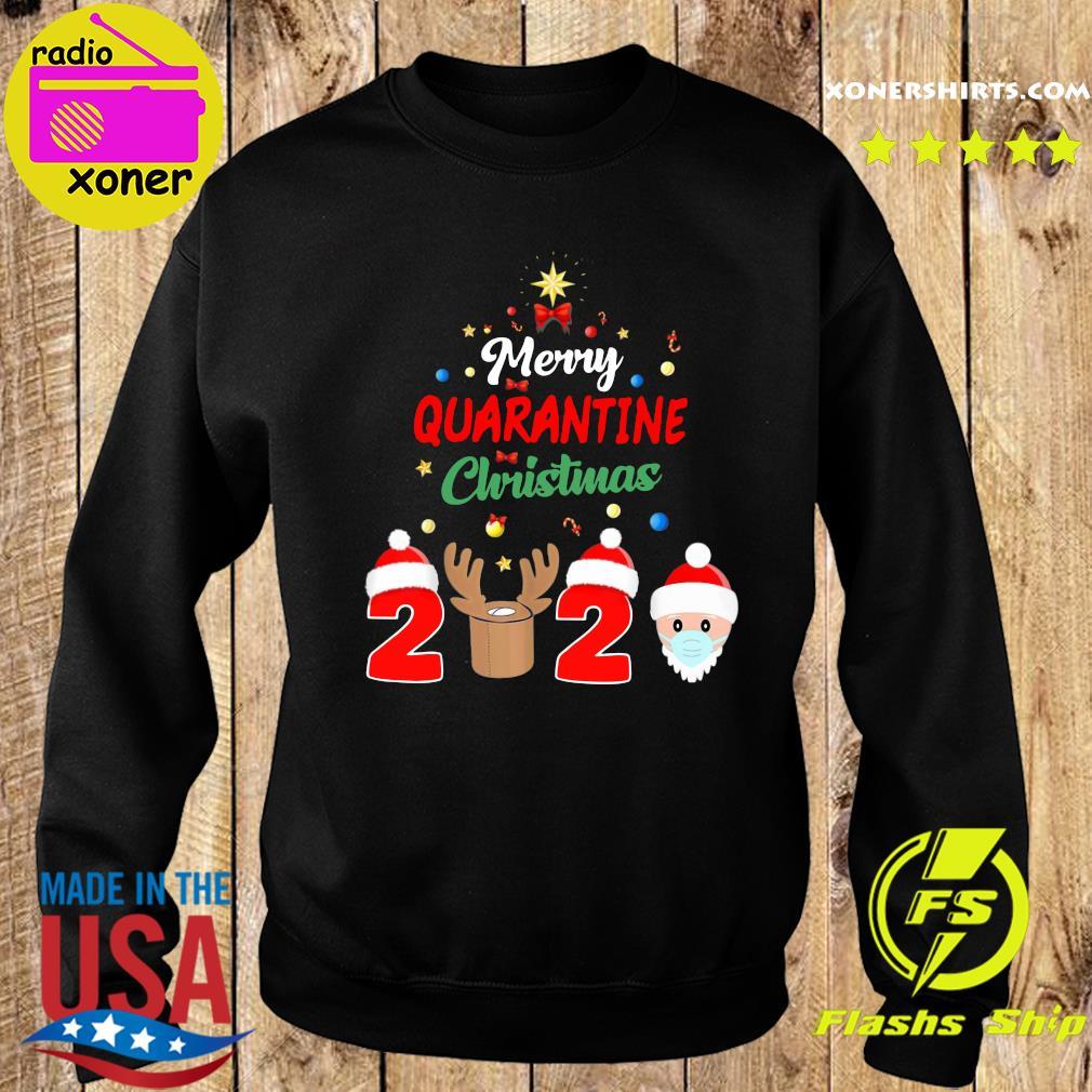 Merry Quarantine Christmas 2020 Xmas Pajamas Holidays Sweatshirt